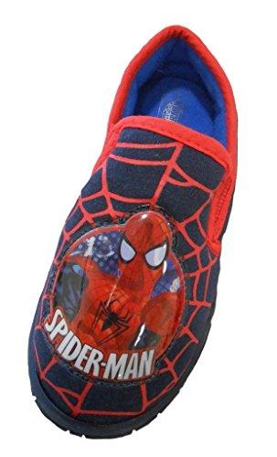 Spiderman Marvel Comics Jungen Pantoffel  Größe 29 EU / 11 UK
