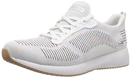 Skechers Zapatillas Mujer Memory Foam (36 EU, Blanco)