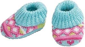 Heless 1647heless Zapatos de Punto para la pequeña muñeca