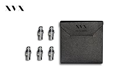 XVX NANO \ Single Coil 5 Pack \ Electronic Cigarette \ Electronic Shisha \ Single Coil Pro Tank Replacement 5 Pack \ Choose Your Lifestyle \ New For 2016 \ Digital Smoke \ Nicotine Free \ Tobacco Free from XVX