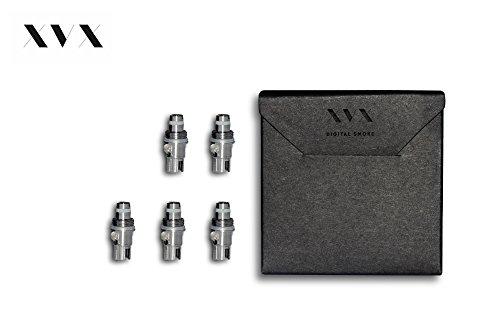 xvx-nano-single-coil-5-pack-electronic-cigarette-electronic-shisha-single-coil-pro-tank-replacement-