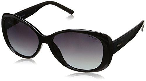 Polaroid Damen PLD 4014/S WJ D28 Sonnenbrille, Schwarz (Shiny Black/Grey Sf Pz), 57