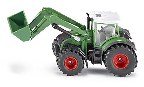 Siku 1981 - Fendt mit Frontlader (32 Traktor 1 Anhänger Spielzeug)