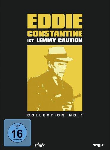 Bild von Eddie Constantine Collection No. 1 - Lemmy Caution [3 DVDs]