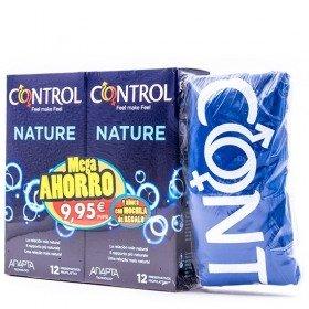 CONTROL NATURE 12 PRESERVATIVOS + 12 PRESERVATIVOS