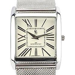 GG Luxe Damen-Armbanduhr Stahl Armband Pierfrancesco Syrakus