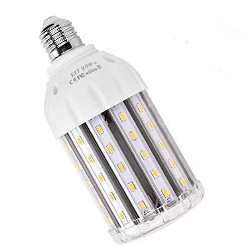LED E27 Mais Birne Beleuchtung, SanGlory 25W LED Lampe Maiskolben E27 Warmweiß für 200W Glühlampe 360° LED Leuchtmittel Energiesparlampe Sehr Hell für Garage Fabriklager Werkstatt Küche