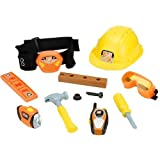 The Home Depot Talking Construction Tool Belt - Orange and Yellow by Toys R Us