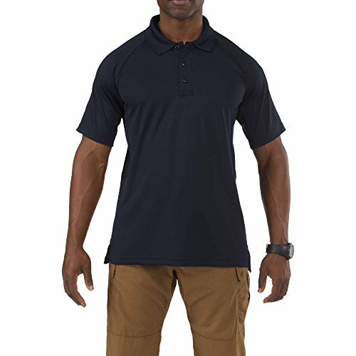5.11 Tactical Series Performance Polo Homme, Dark Navy, FR : S (Taille Fabricant : S)