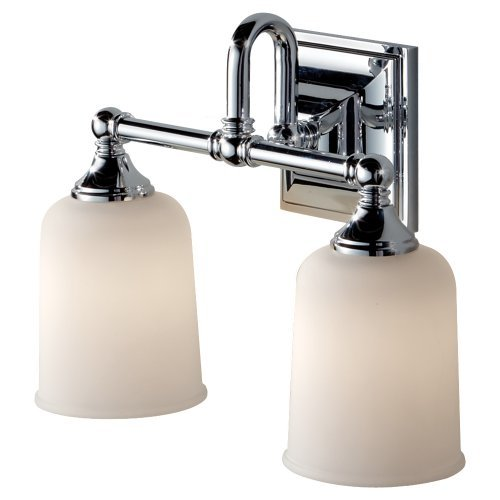 Ch Vanity (Feiss VS27002-CH, Harvard Vanity Strip, 2 Light, 200 Watts, Chrome by Murray Feiss)