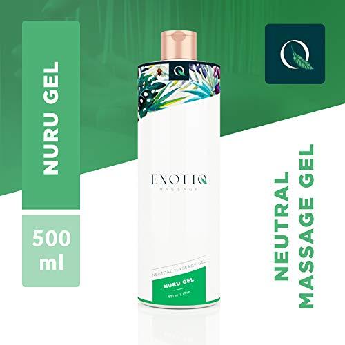 Massage-gel (Exotiq Nuru Gel (500ml - 17oz) - Mit Einer Einzigartigen Glatten Und Dicken Konsistenz Für Eine Entspannende Massage - Perfekt Für Body-To-Body-Massagen; Glatt, Dick, Leicht Abwaschbar)