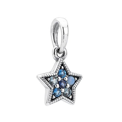 Pandora Ketten-Anhänger Leuchtender Stern 396376NSBMX