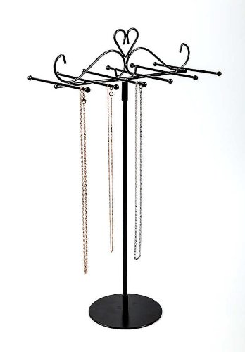 cm-destacan-joyera-cadenas-pantalla-almacenamiento-pulsera-titular-la-pulseras-Altura-para-de-negro-Cadena-collar-las-destaca-38-extralargas-SALAMANCA-collares-porta-cadena-stand-soporte