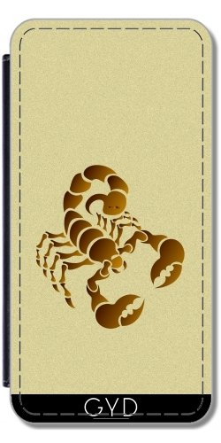 Coque pour Iphone 6 (4,7 '') - Scorpion by hera56 Simili-Cuir