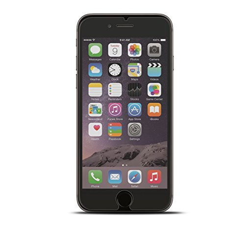 iPhone 6s Plus, 6 Plus Schutz Set, Conie Mobile Set [1x Silikon Hülle + 1x Displayschutzfolie] Backcover Schutzhülle und Panzerglas Schutzfolie Anti Fingerabdruck Blau