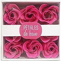 Pétalos de rosa de baño perfumados que se derriten en el agua French Tendance