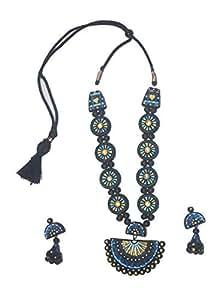 KHWAISH ENTERPRISES Presents ECO-Friendly Terracotta Jewellery for Multi FUCNTIONS WEAR KEJ14