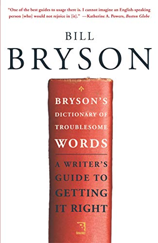 Bryson's Dictionary of Troublesome Words (English Edition)