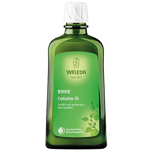 WELEDA Birken Cellulite-Öl, straffendes Naturkosmetik Körperöl für neue Spannkraft und glatte Haut, Wirkung dermatologisch bestätigt und mit angenehmem Duft (1 x 200 ml) -