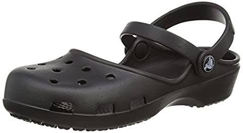 Crocs Karin Women's Clogs - Black, 8 UK (41-42 EU)