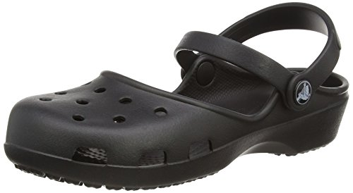 crocs Crocs Karin Clog, Damen Clogs, Schwarz (Black 001), 37/38 EU (5 Damen UK)