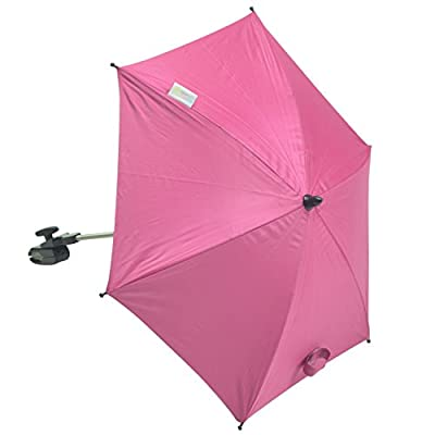 For-your-Little-One parasol Compatible con Graco Evo, color rosa