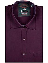 Accox Long Sleeve Regular Fit Plain Formal Shirt For Man,formal Shirts,100% Cotton Shirts,Plain Shirts Cotton,...