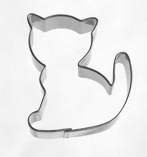 Keksausstecher Katze 5,2 cm r3 Edelstahl spülmaschinengeeignet