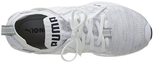Da Wns grigio Scarpe Peacoat Vaporosa Evoknit Bianco Bianca Puma 02 cougar Donna Corsa Lo Concorrenza Accendere La O5wFWqf0x