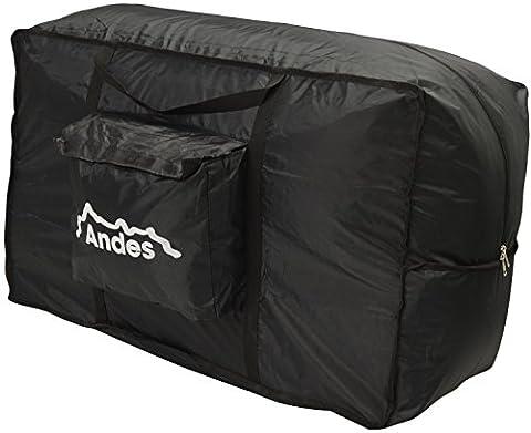 Andes - Kayak avec pagaie - deux personnes - gonflable/pneumatique/sports aquatiques - Sac de rangement