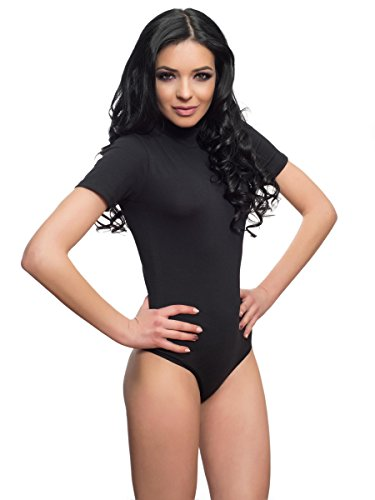 Evoni - Body - Femme Noir Schwarz S - Noir - X-Large 29fc77ccbac