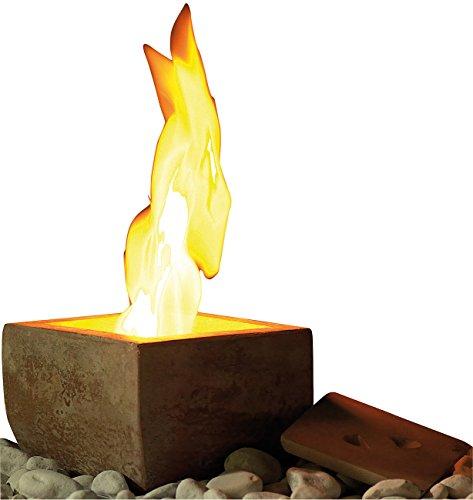 Carlo Milano Feuerschale: Terracotta-Dekofeuer Scodella für Bio-Ethanol (Bioethanol Feuer)