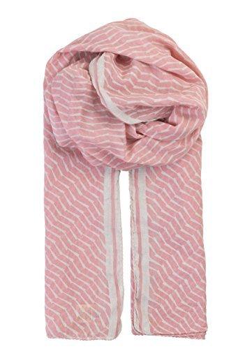 becksondergaard-damen-schal-claudella-rosa-beige-gestreift-wild-rose-weiche-baumwolle-1701600001-608