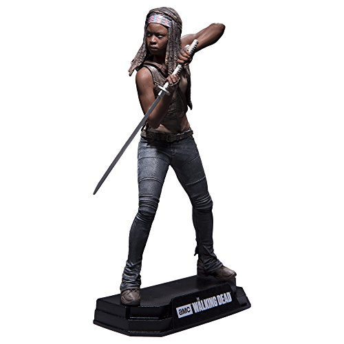 Fear The Walking Dead - Michonne Action Figure + Stand
