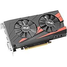 ASUS NVIDIA GeForce GTX 1050Ti EX OC 4 GB GDDR5 2 PCI-Express Graphics Card - Black