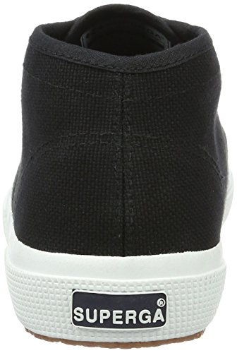 Superga Unisex-Erwachsene 2754-Cotu High-Top Schwarz (Black-White)