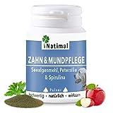 Natimal. Schlaue Zahn- & Mundpflege Plus Vitamin C. 100g Pulver für Hunde. Ergänzungsfuttermittel.