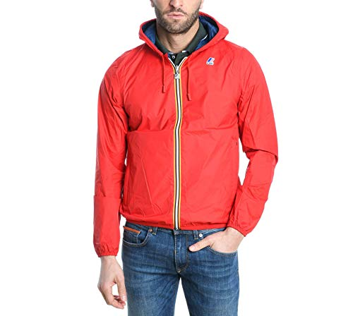 K-Way Giacca Outerwear Uomo K002xp0c66 Poliammide Rosso
