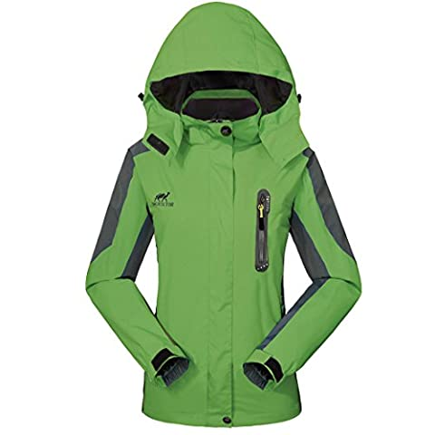 Waterproof Jacket Raincoat Women Sportswear-GIVBRO (2017 New Design) Outdoor Hooded Softshell Jackets