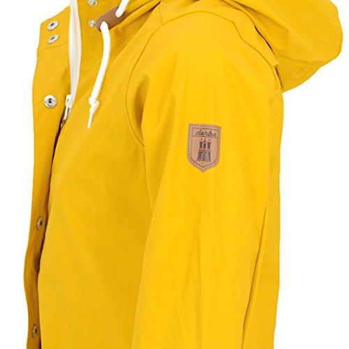 Derbe Frauen Regenjacke Peninsula Fisher yellow - locker geschnitten, fällt normal aus Yellow