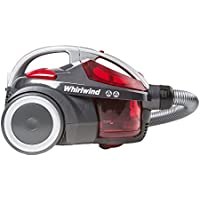 Hoover Whirlwind SE71WR02 Cylinder Vacuum Cleaner without Pets Turbo Brush, 700 W - Grey