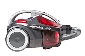 Hoover SE71 WR01 Whirlwind Cylinder Vacuum Cleaner without Pets Turbo Brush, 700 W, Grey