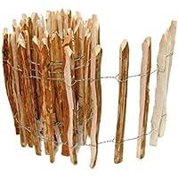 boogardi staketen recinzione Nocciola | Molte misure | Roll recinzione in legno nocciola come economici e durevoli alternativa al Castagno recinzione di (Bauern recinzione)