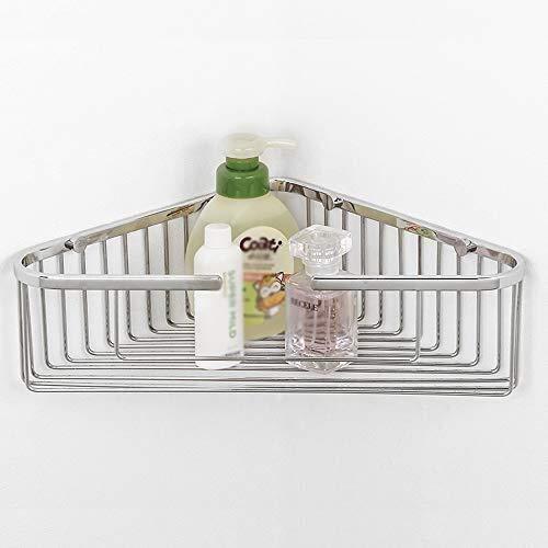 Badezimmer Regal Badezimmer Eckregal und Dusche Caddy Basket SUS304 Edelstahl Dreieckige Badewanne Wandhalterung poliertem Finish
