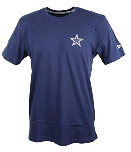 New Era Herren Oberteile / T-Shirt Team Apparel Blau