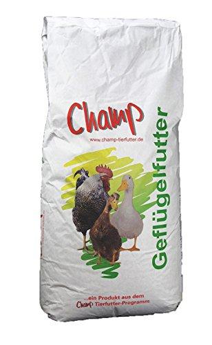Champ Geflügelkörnerfutter, 25 kg Hühnerfutter mit Muschelschalen