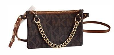 Michael Kors MK Signature Fanny Pack Belt Bag, XL