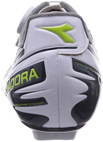 Diadora VORTEX-PRO MOVISTAR Unisex-Erwachsene Radsportschuhe - Rennrad Mehrfarbig (blau/weiß 5272)