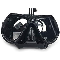 MIKI-Z Masque de Masque de plongée sous-Marine pour Appareil Photo GoPro Hero 5/4/3 Scuba Snorkle