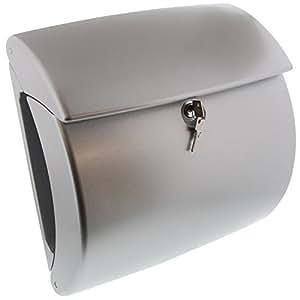 burg w chter 4003482078303 boite aux lettres kiel argent bricolage. Black Bedroom Furniture Sets. Home Design Ideas